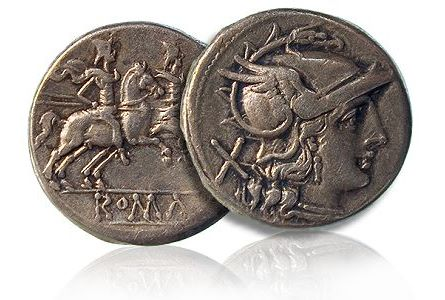 Using Ancient Coins to Map Trade Routes in Mediterranean Europe