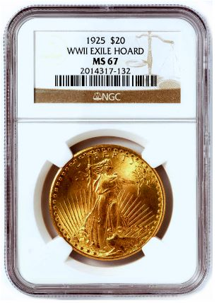 NGC Certifies Historic Cache of Saint-Gaudens Double Eagles