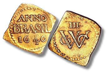 1646 brasil 3Guilders HA NY2011 $8.2 Million In Rare World Coins Sell In New York