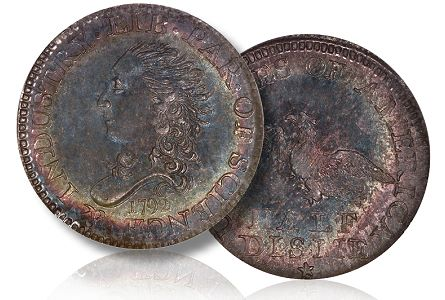 Stack's-Bowers to Display Cardinal Collection's Finest Known 1792 Half Disme