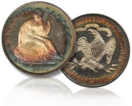 1876 50c bm2011 pr Coin Rarities & Related Topics: The Fun Has Begun