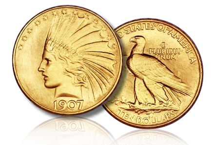 1907 10 fun2011 2mil Coin Auctions: 1907 Rolled Edge Gold Eagle Tops $2 Million in Heritage $53 Million FUN Sale