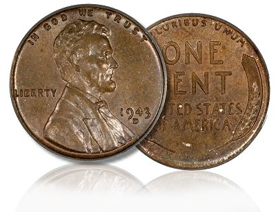 1943 d Bronze 1c legend sm Coin Rarities & Related Topics: The Jan. 2011 FUN Convention in Tampa