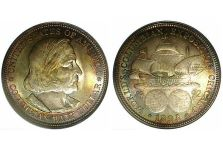 1892-1893 Columbian Exposition Half Dollar