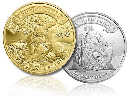 camint first banknotes 2010 ROYAL CANADIAN MINT SETS RECORD WITH 25 COLLECTOR COINS SELLING OUT IN 2010