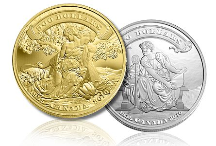 ROYAL CANADIAN MINT SETS RECORD WITH 25 COLLECTOR COINS SELLING OUT IN 2010