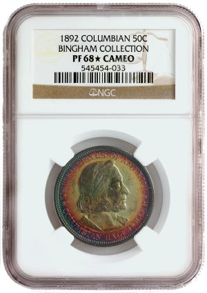 columbian bingham pf68star Coin Rarities & Related Topics: The Jan. 2011 FUN Convention in Tampa