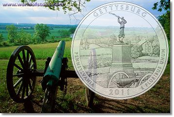 gettysburg quarter US Mint News: Silver Proof Coin Sets, Gettysburg Quarter and New Artists Selected