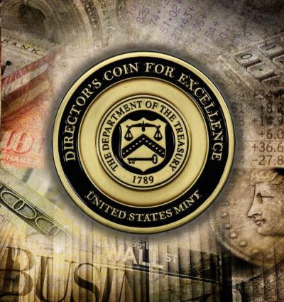 "U.S. Mint Director Awards ""Coin for Excellence"" to PCGS' Miles Standish"