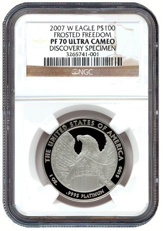 ngc Plat discovery NGC Certifies Newly Discovered Platinum Eagle Variety