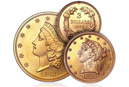 Coin Rarities & Related Topics: Fresh & Original Proof Gold Powers Platinum Night Auction
