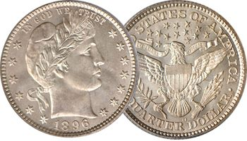 Numismatic Americana Announces Purchase of Finest Known 1896-O Barber Quarter