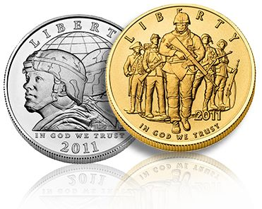 us army commem New Army Commemorative Coins Available Today, Jan 31st from the US Mint