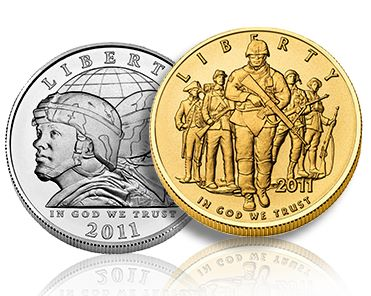 New Army Commemorative Coins Available Today, Jan 31st from the US Mint