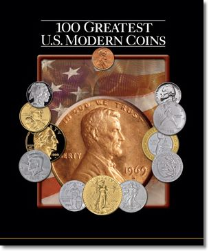 100 greatest modern coins book NEW BOOK: 100 GREATEST U.S. MODERN COINS