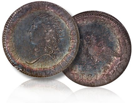 1792 half disme cardinal collection Video Coin News: Martin Logies talks about the 1792 half disme