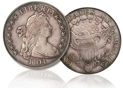 1804 dollar Adams Carter Coin Rarities & Related Topics: A 1907 $10 Gold piece becomes the latest US Coin to be Auctioned for more than $2 million