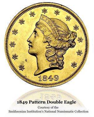 1849 pattern 20 smith2 Updated PCGS Million Dollar Coin Club List Unveiled