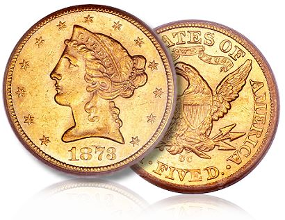 1873 cc 5 ha Is There an Upward Trend in the CC Half Eagle Coin Market?