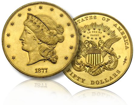 1877 half union Updated PCGS Million Dollar Coin Club List Unveiled