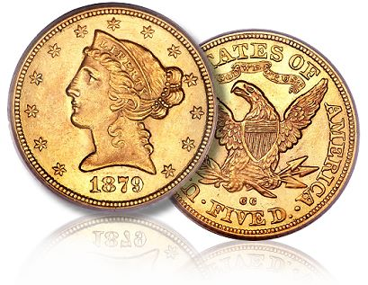 1879 cc 5 ha Is There an Upward Trend in the CC Half Eagle Coin Market?