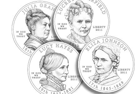 US Mint News: 2011 First Spouse Designs, Kennedy Half Dollars and Andrew Johnson Presidential $1 Coin