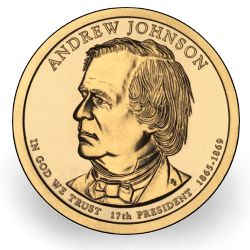 andrew johnson dollar US Mint News: 2011 First Spouse Designs, Kennedy Half Dollars and Andrew Johnson Presidential $1 Coin