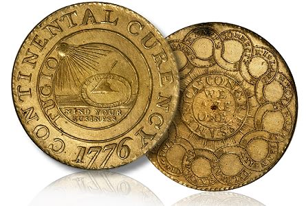 Coin Profiles: 1776 Brass Continental Dollar