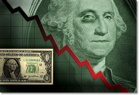 dollar dive2 What would happen if the United States lost its AAA credit rating?