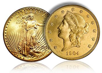 Premiums for generic gold coins – like MS-62 Saints and Libs – drop