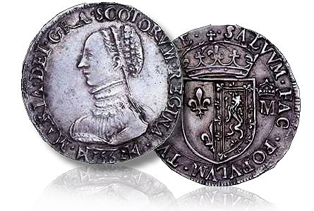Mary (1542-67 Mary Queen of Scots)  Testoon, 6.10g, 1562,Third period