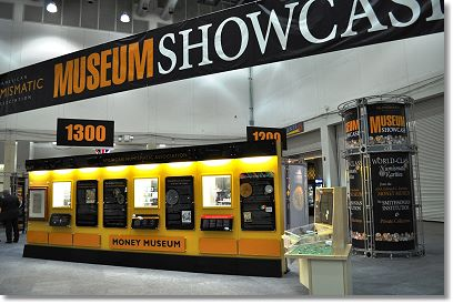 museum showcase Rediscover Gold at the ANA Sacramento National Money Show, March 17 19