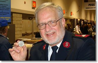 salvation army 1804 Gold and VIP Visitor Highlight  February 2011 Long Beach Coin Expo