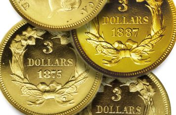 PCGS Exhibits First Complete Set of Certified Proof $3 Gold in Sacramento