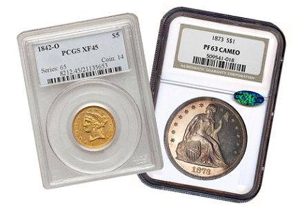Coin Rarities & Related Topics: U.S. coins in the $1000 to $5000 range