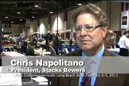 Video Coin News: Chris Napolitano on the New Stacks-Bowers Auction Company