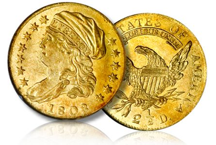 1808 250 profile1 Coin Profile: 1808 Quarter Eagle a Rare One Year Type Coin