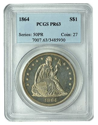 1864 pr dollar GreatCollections launches Coin Auction and Direct Sale Marketplace.