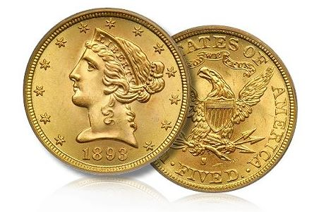 Liberty Head Half Eagles Gold Coins: A Guide for Collectors