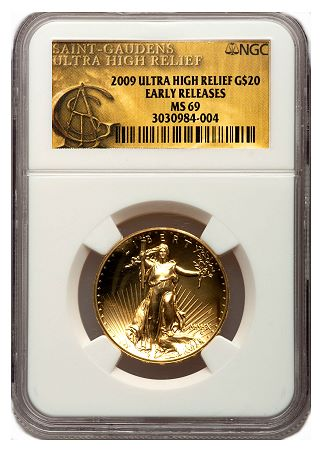 2009 uhr ngc ER 2009 Ultra High Relief gold $20 on the move upward
