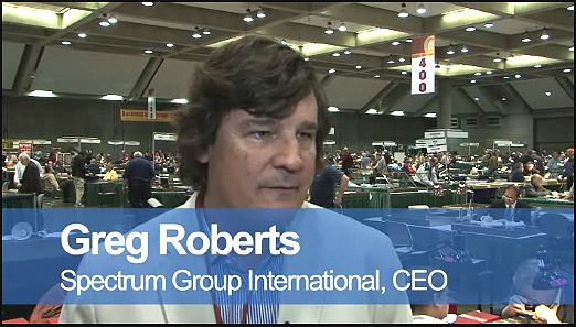 Greg Roberts, CEO  and Andrew Glassman of Spectrum Group International