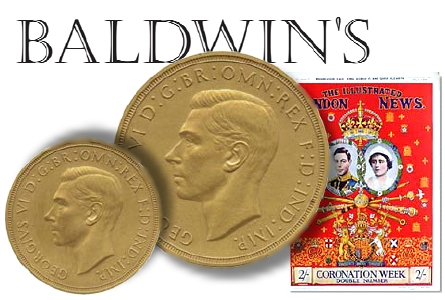 baldwins kings speach RARE COINS WORTHY OF A KING'S SPEECH