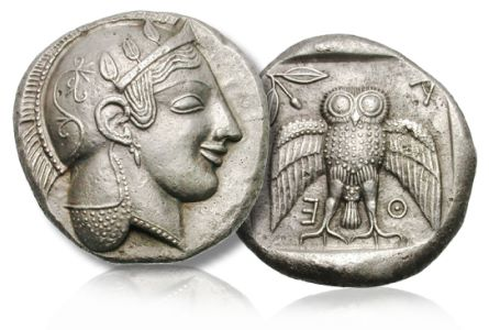 decadrachm of Athens Important Greek silver, Roman gold feature in first joint Heritage Auctions Gemini CICF sale