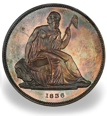morelan gobrecht The Spectacular Nevada Accumulation and the Morelan Collection of Type Coins