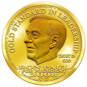 ron paul gold coin US Attorney Says Attempts To Use Liberty Dollar As Money Is Domestic Terrorism   Von Nothaus Found Guilty