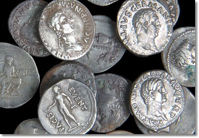 suffork hoard Windfall Expected From The North Suffork Hoard of Roman Silver Coins