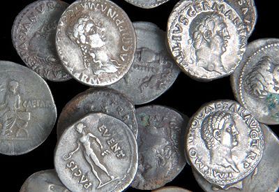 Windfall Expected From The North Suffork Hoard of Roman Silver Coins