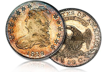Coin Profiles: Unique Proof 1823 O-111 Bust Half Dollar