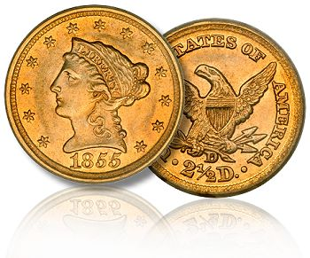 1855 D ha july09 The State of the Dahlonega Gold Coin Market, 2011