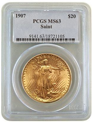 generic pcgs63 saint Thinking of Trading Certified Rare Coins for Bullion?